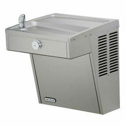 Elkay Drinking Fountain, 7.8 GPH Vandal Resistant Stainless