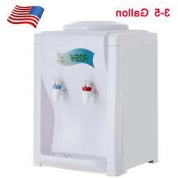 Electric Desktop Hot/Cold Water Cooler Dispenser 5 Gallon To