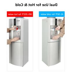 Electric Hot and Cold Water Cooler Dispenser Home Office Use