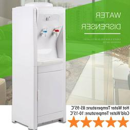 Electric Water Cooler Dispenser Stainless Steel Hot Cold Top