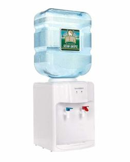 Primo Tabletop Water Dispenser Countertop Room Temperature Small Size 3-5 Gallon