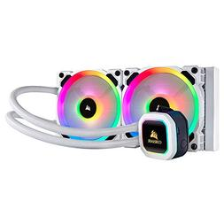 CORSAIR H100i RGB PLATINUM SE AIO Liquid CPU Cooler,240mm,Du