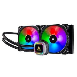 CORSAIR H115i RGB PLATINUM AIO Liquid CPU Cooler,280mm,Dual
