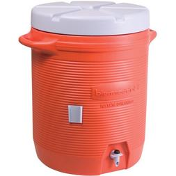 RUBBERMAID HOME PRODUCTS - WATER COOLER ORANGE 10GAL #11624