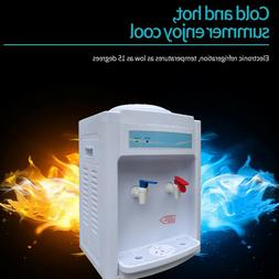 Hot&Cold Water Cooler Dispenser Free Standing 2-5 Gallon Top