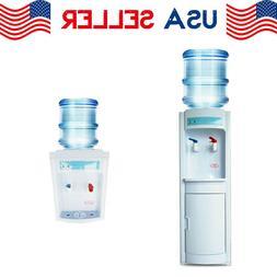 Hot &Warm Water Cooler Dispenser Free standing 5 Gallons Top