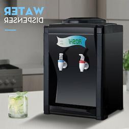 Hot Cold Water Cooler Dispenser Free Standing 2-5 Gallon Top