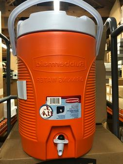 Rubbermaid Insulated 3 Gallon 1.3L Water Cooler, Orange  NEW