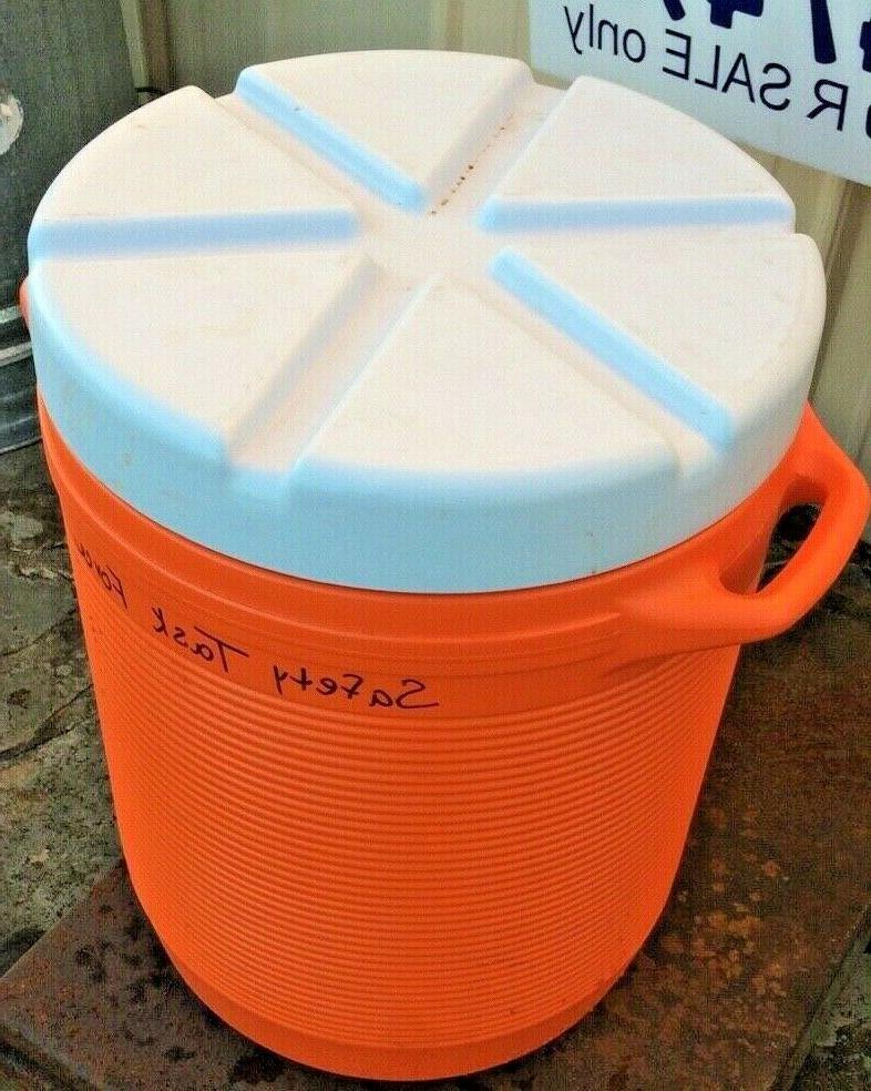 10 Water Cooler Bottom Spout Handles Orange