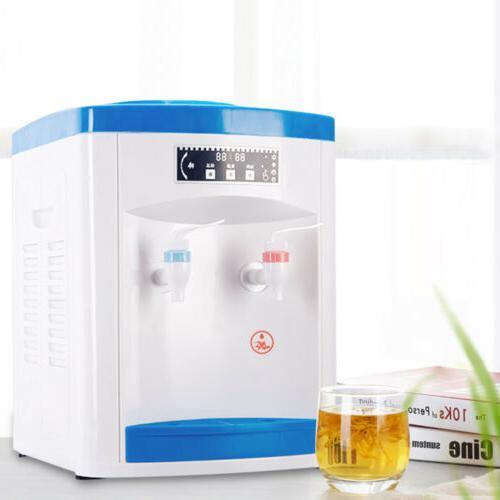 Desktop Electric Hot Cold Water Cooler Dispenser Counter Top