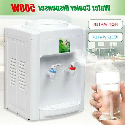 110V Hot Cold Water Cooler 3-5 Gallon Home Use