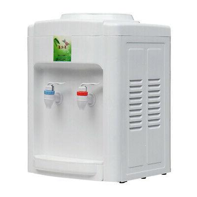 110V Electric Cold Water Cooler Desktop 3-5 Office Home Use