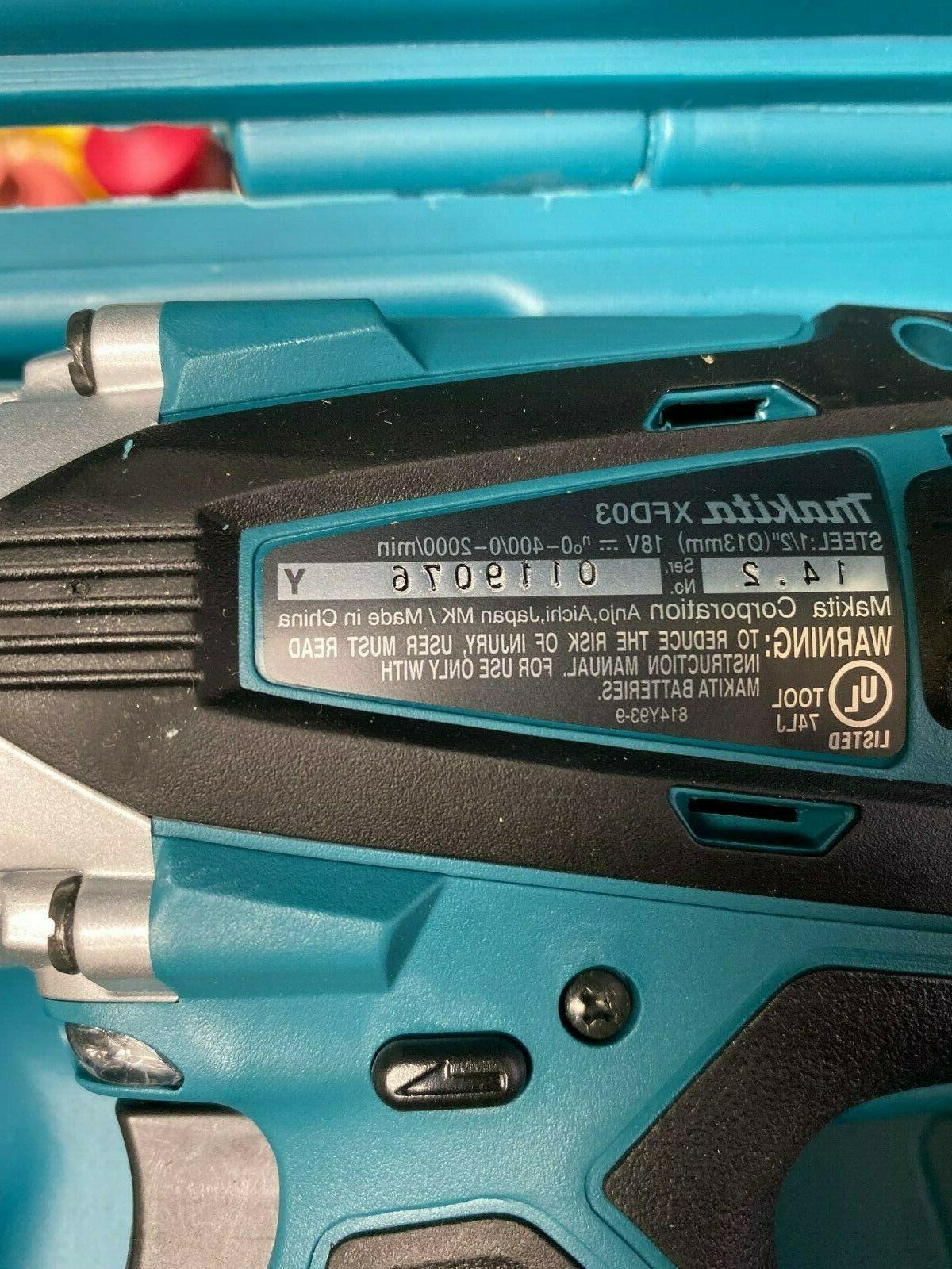 Makita 18-Volt 1/2 in. Cordless Driver/Drill