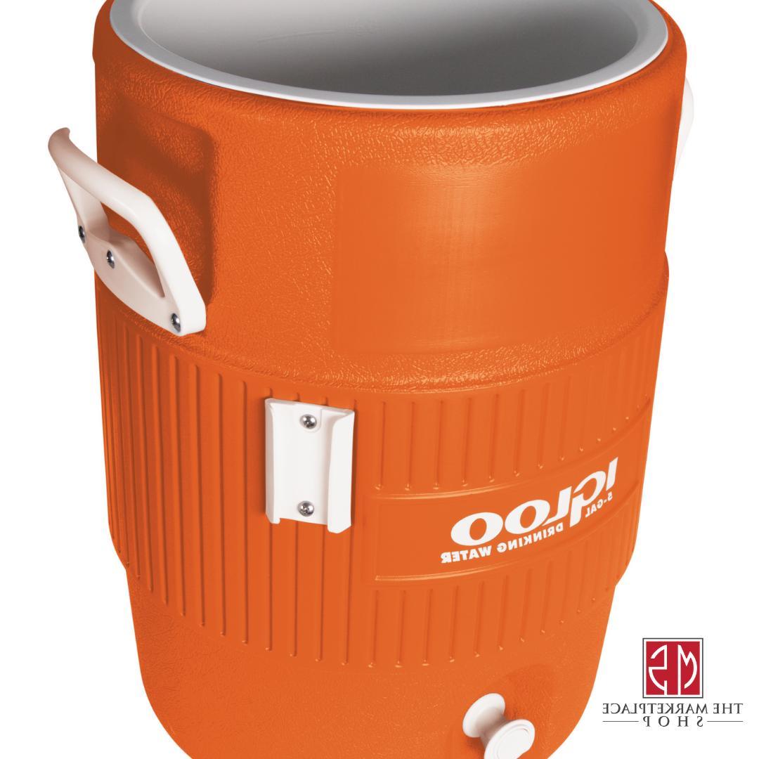 Water Jug IGLOO 5 Heavy Duty Beverage Dispenser Sports