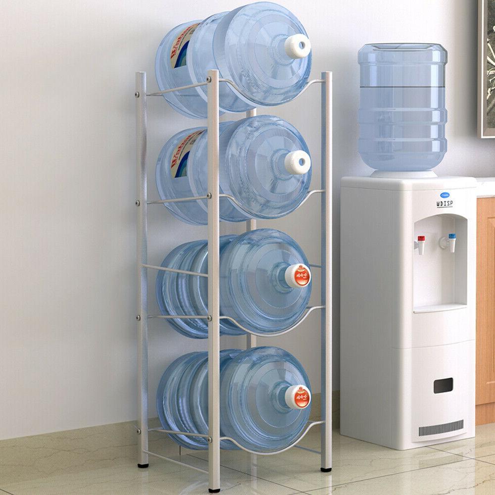 3/4 Jug Rack 5 Gallon Water Bottle Storage Detachable