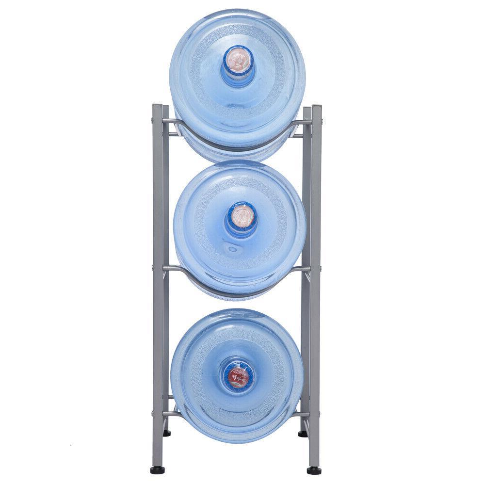 3/4 Layers Water Jug Rack 5 Water Bottle Storage Rack Detachable