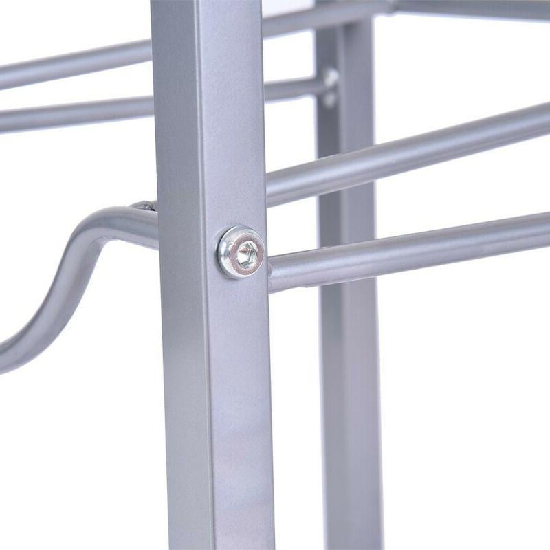 3-Tier Rack Water Storage Rack Detachable Heavy Rack US