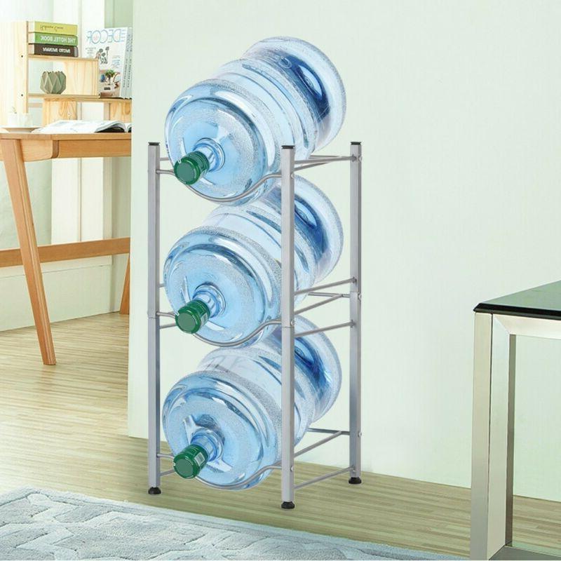 3 tier water cooler jug rack water