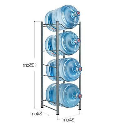 4 Water Jug Rack 5 Water Bottle Storage Rack Detachable