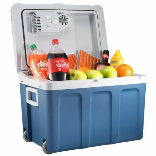Knox 48 Quart Electric Cooler/Warmer with Built in Car and H