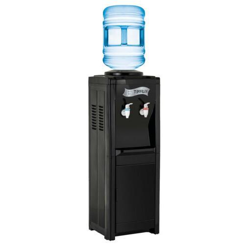5 Hot/Cold Top Loading Cooler Dispenser Black