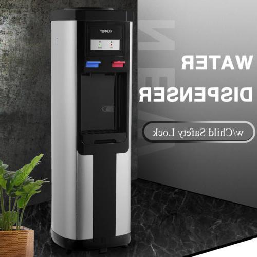 Water Cooler Dispenser Loading Bottle with Storage