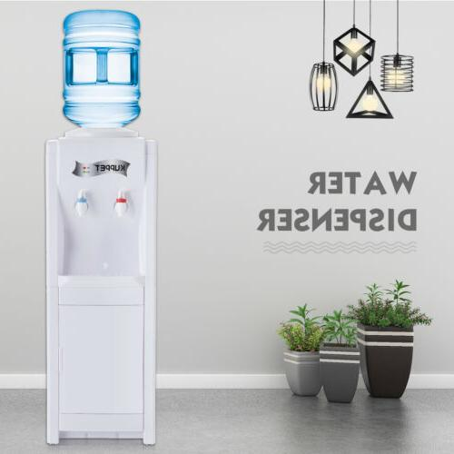 5 Gallon Top Loading Water Cooler Dispenser Electric Hot/Col