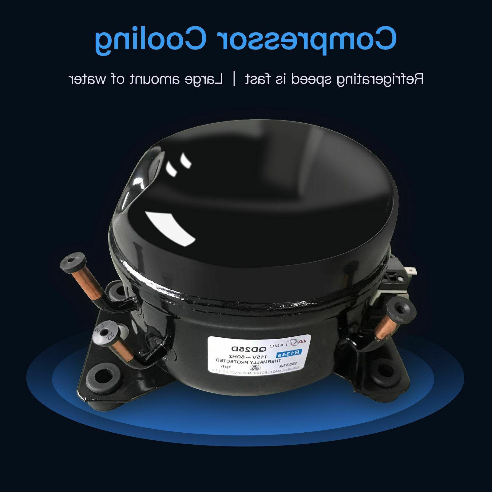 5 Gallon Water Dispenser Top Loading Storage Cabine Warm Water