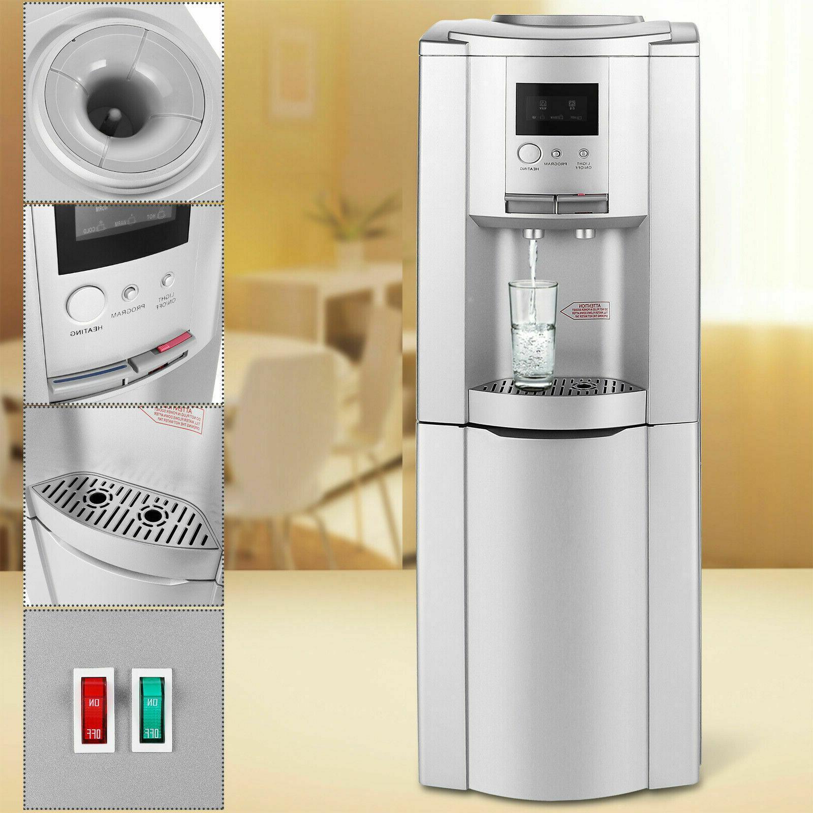 5 gallon water dispenser cooler hot cold