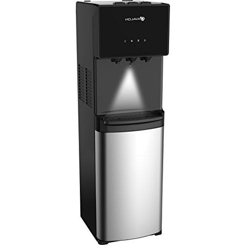 Cooler Water Dispenser 3 Hot, Water, Cabinet, Loading -