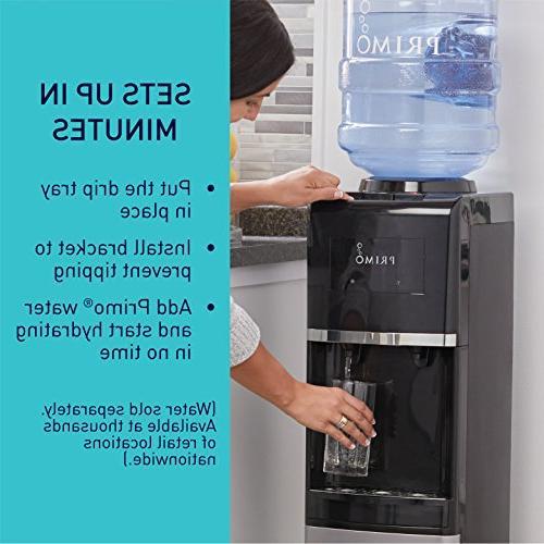 Primo Steel 3 Spout Top Load Hot, Cooler Dispenser