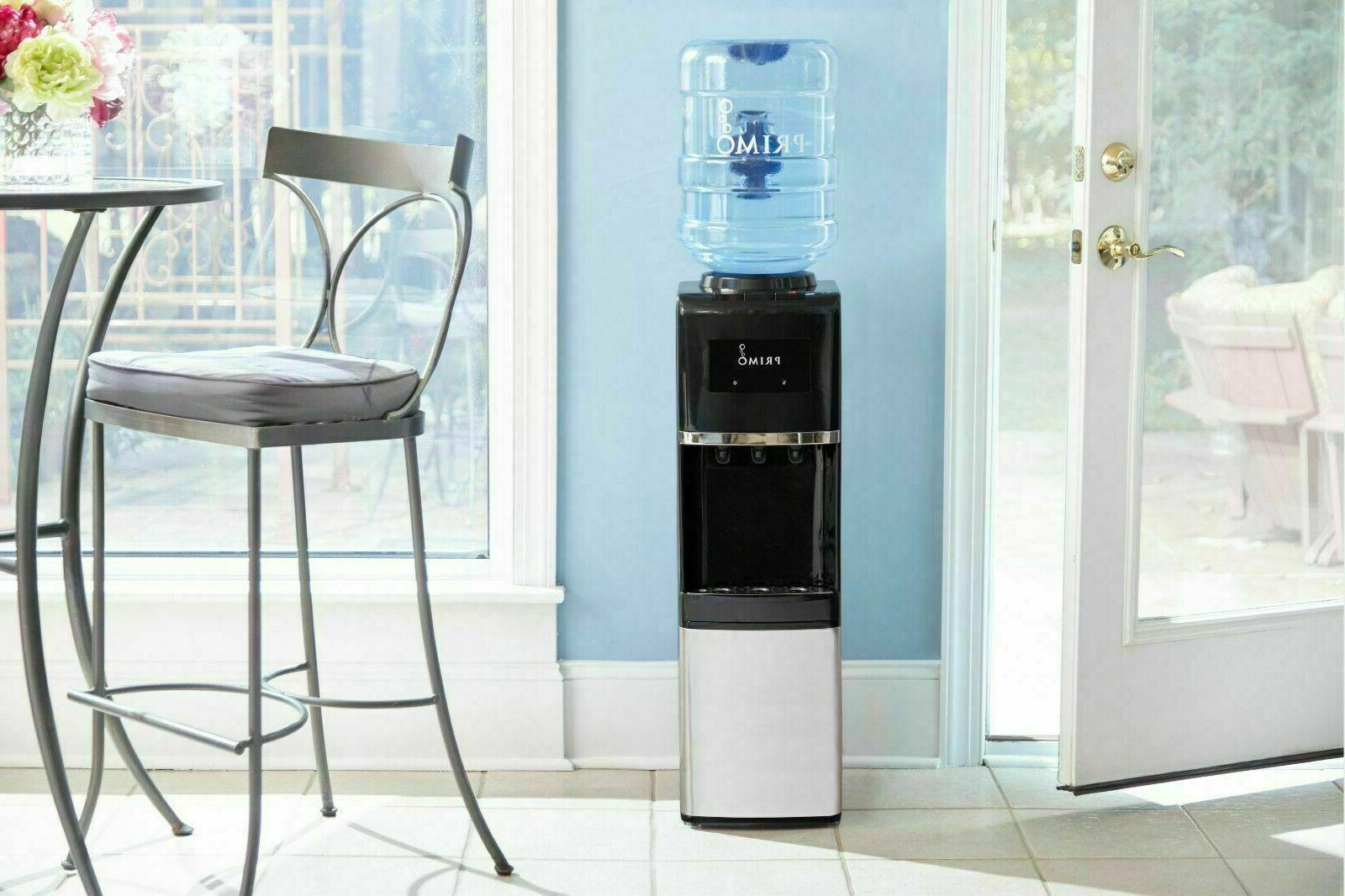 Primo Water Dispenser Top Loading Cooler Hot 5 Gallon Bottle