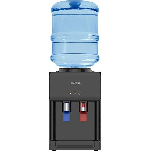 Avalon Hot/Cold Top Loading Countertop Water Dispenser Child Lock. UL/Energy Star Black A1CTWTRCLRBLK