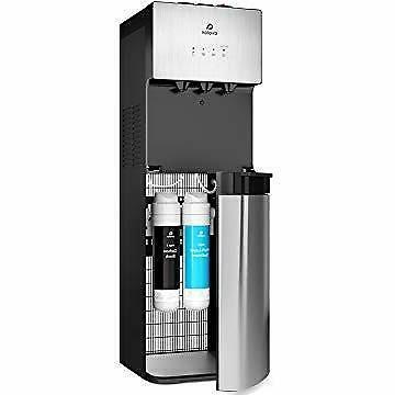 a5 self cleaning bottleless water cooler dispenser