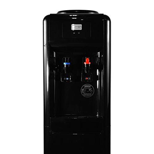 Aquverse Commercial-grade Water Dispenser, Black Stainless
