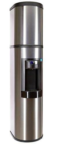 Absolu Stainless Steel Water Cooler, Matchin Stainless Cover