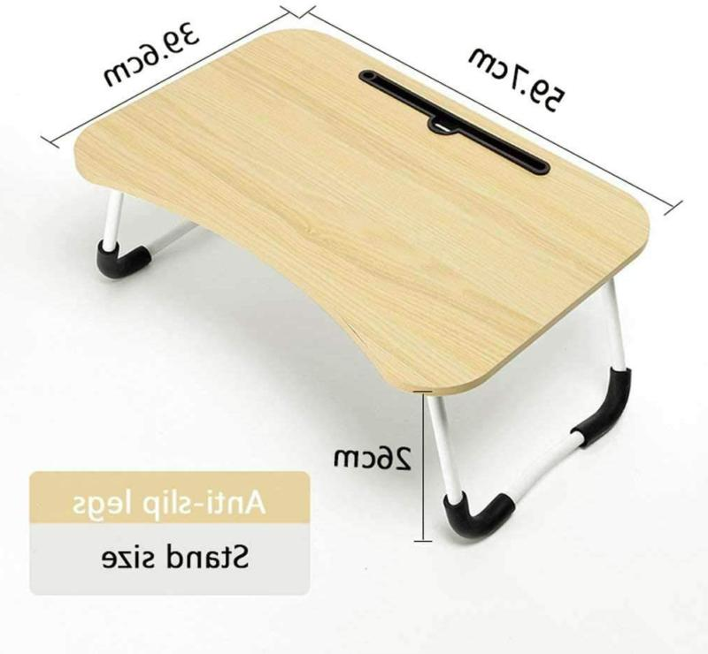 Adjustable Laptop Lap Tray Table for Couch and Sofa
