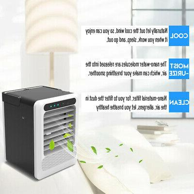 Air Conditioner USB Cooler Cooling 3 speeds Office Summer