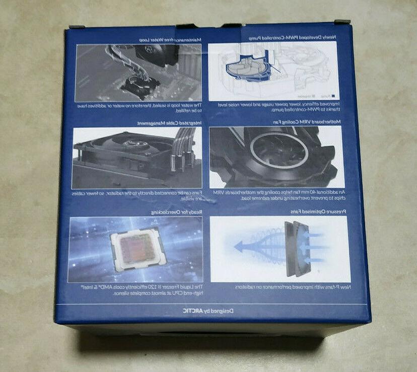 Arctic Liquid Freezer II 120 Heatsink Socket