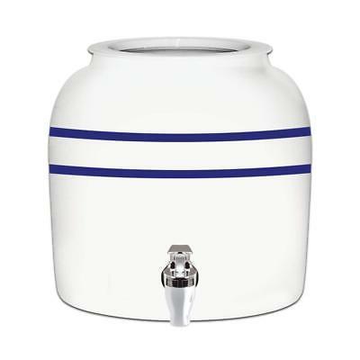 blue stripe porcelain ceramic water