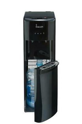 Primo Bottom Load Water Dispenser for Hot Cold Black Stainle