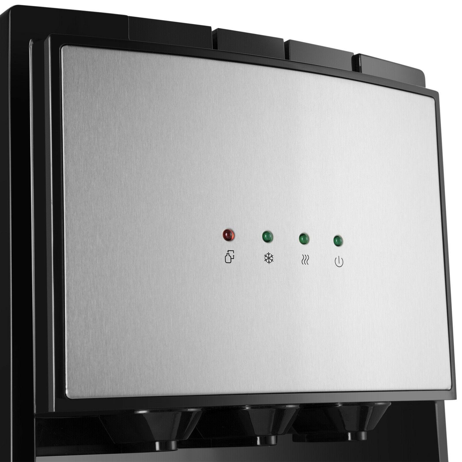 Bottom Loading Dispenser Stainless Safety