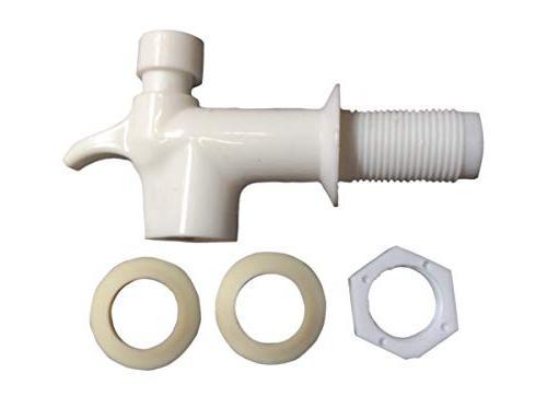 AquaNation BPA Free Cooler Jug Reusable Push Spigot Lever Valve Water Tap