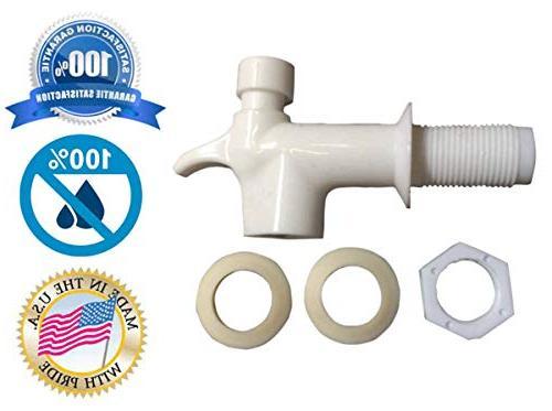 AquaNation Free Replacement Cooler Water Bottle Jug Push Spigot Spout Water Lever Reid Valve Crock Water