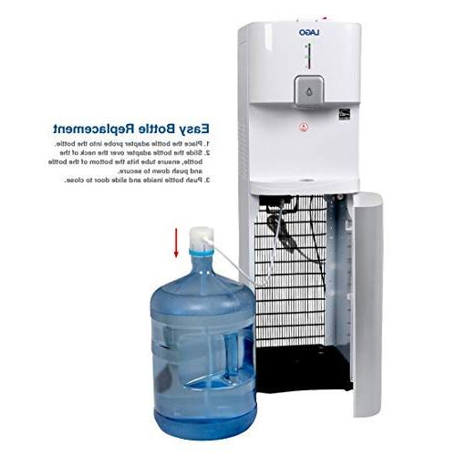 Lago CLBL200 Bottom Load Hot, Cold Room White Water