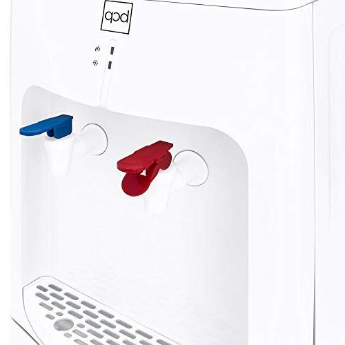 Best Top Loading Water Cooler Dispenser 2 Safety Cabinet White