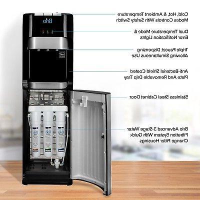 Brio Grade Filter Water Dispenser-3 Temperature ...