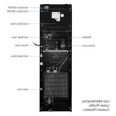 Brio Filter Water Dispenser-3 Temperature ...