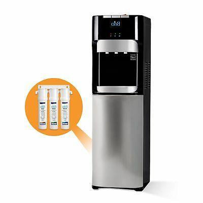 commercial grade bottleless filter water cooler dispenser