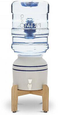 Primo Water Dispenser Push Tab Ceramic w/ Stand Home College